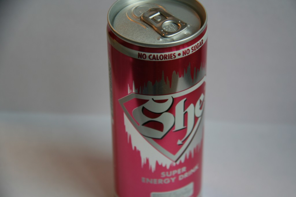 Anti-rimpelcocktail met She energy-drink